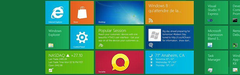 Design Metro sur Windows 8