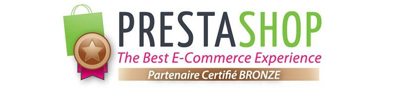 Agence Web certifée PrestaShop