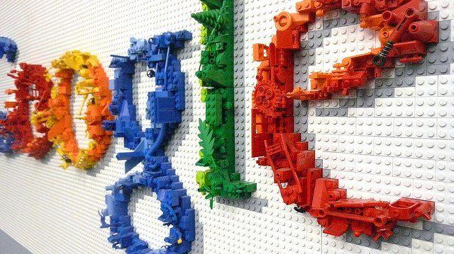 Logo du Google en lego