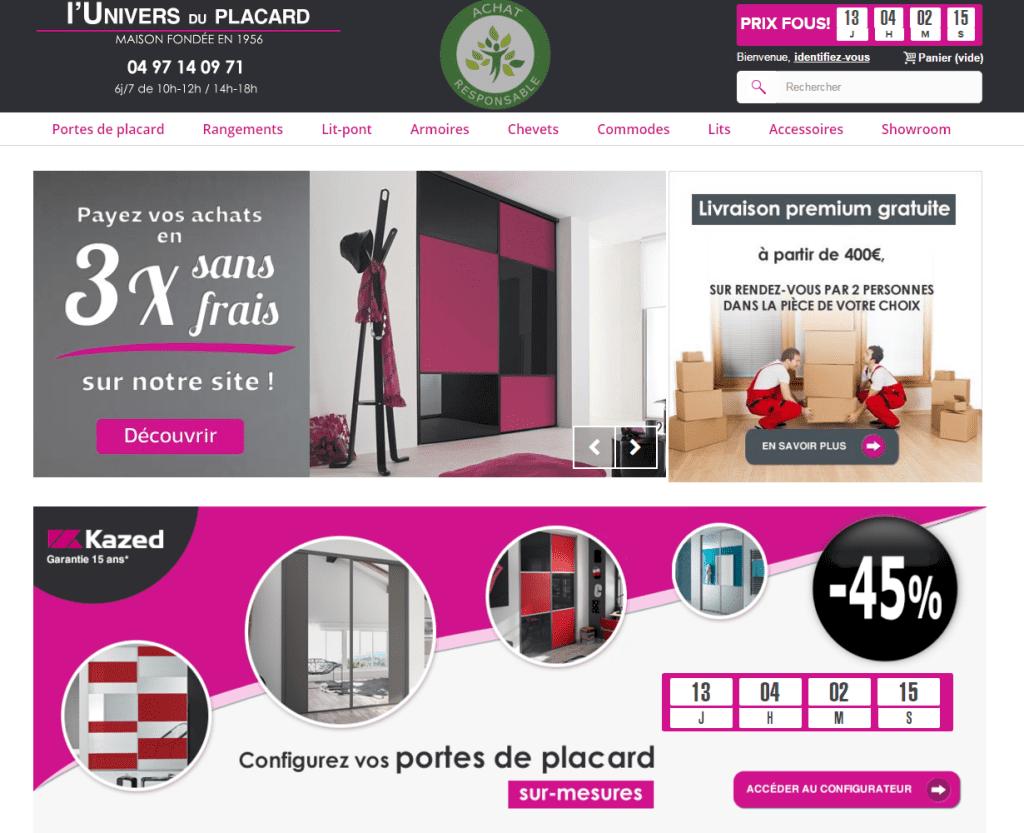 portes de placard sur mesure. Black Bedroom Furniture Sets. Home Design Ideas
