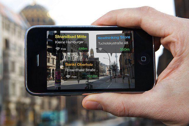 Un écran de smartphone.