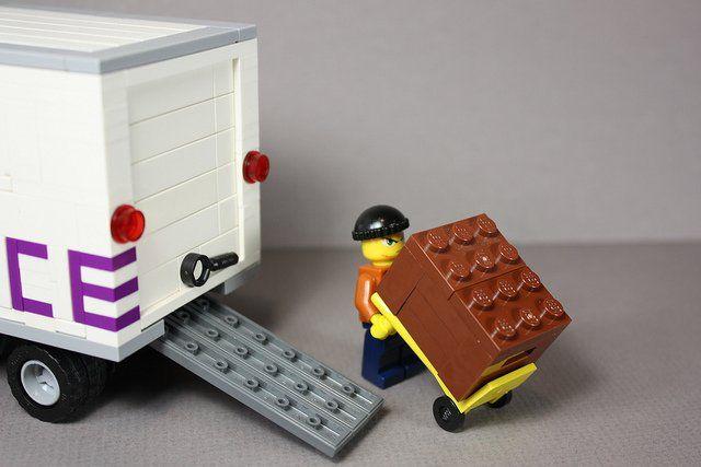 Livreur Lego.