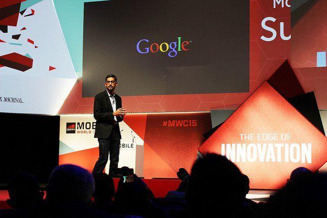 Sundar Pichai, directeur général de Google.