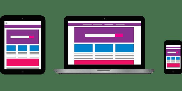 Site internet responsive, adapté aux tablettes et aux smartphones.