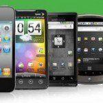 photos de différents smartphones