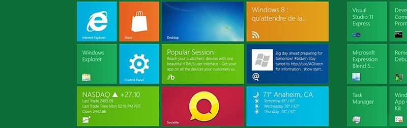 Design Metro sur Windows 8