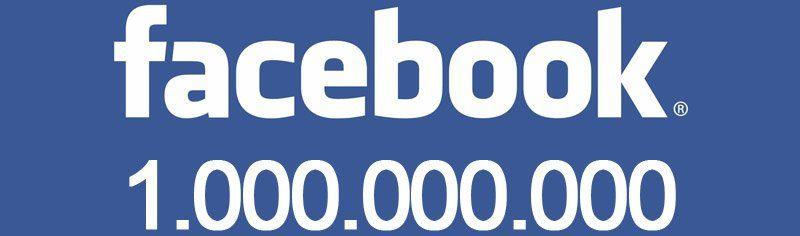 1 milliard d'utilisateurs Facebook