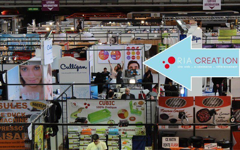 Le stand de RIA Création à la Foire de Nice 2014.