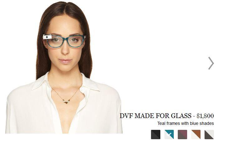 Google Glass par DVF sur Net à porter