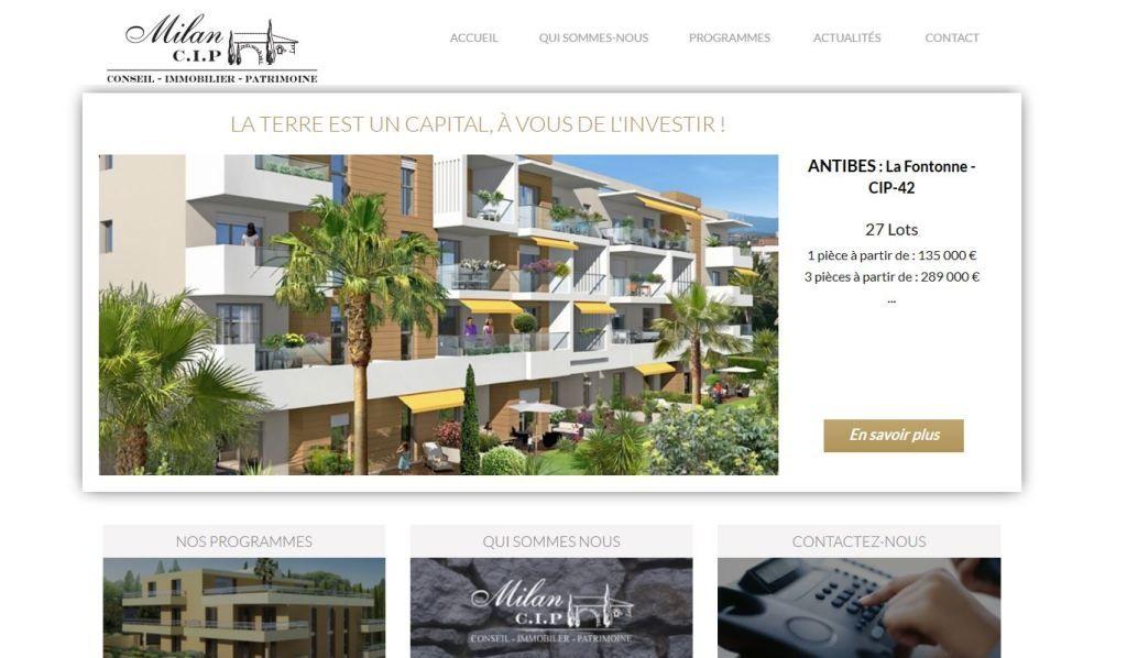 Accueil Site Milan CIP