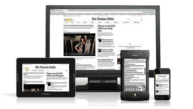 4 largeurs possible d'un site responsive