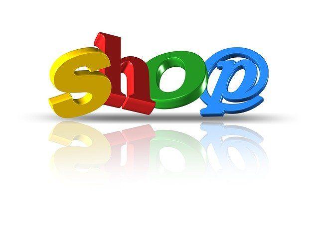 """Le mot """"shop"""" qui signifie magasin en anglais."""