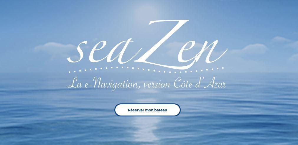 Bannière du site de location de bateau sans permis seaZen.