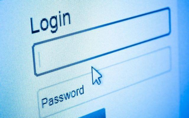 Fenêtre internet requérant un mot de passe efficace.