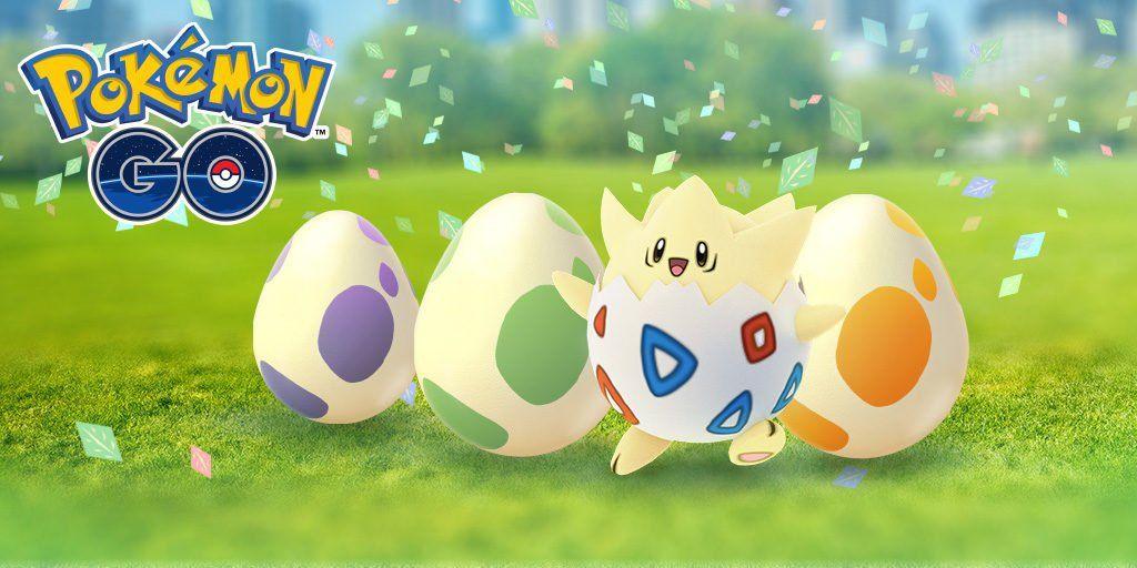 Image d'un pokémon avec le logo Pokémon Go