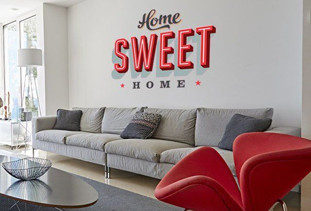 "Le Stickers ""Home Sweet Home"" de chez Kerstee"