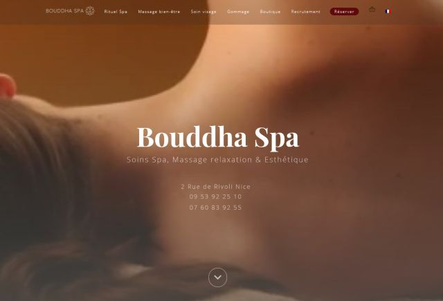 Bouddha Spa : le temple du spa et du massage à Nice