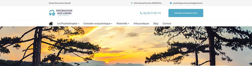 Psychologue Nice Centre
