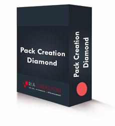 Pack Pack création site vitrine Diamond