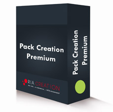 Pack création site vitrine Premium