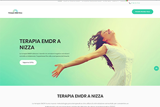 Site de présentation de la thérapie EMDR à Nice Thérapie-emdr-nice.com :