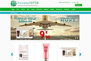 Pharmafutur est une parapharmacie en ligne sur laquelle vous trouverez tous les produits de santé et de bien-être dont vous avez besoin, à des prix attractifs.