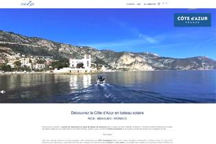 Louer un bateau sans permis à Beaulieu dans les Alpes-Maritimes se fait désormais par internet avec seaZen. Naviguez en mer grâce au bateau solaire !