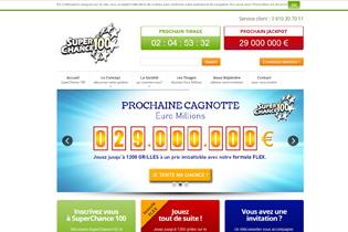 Super Chance 100 – Jouer à l'Euromillion à plusieurs