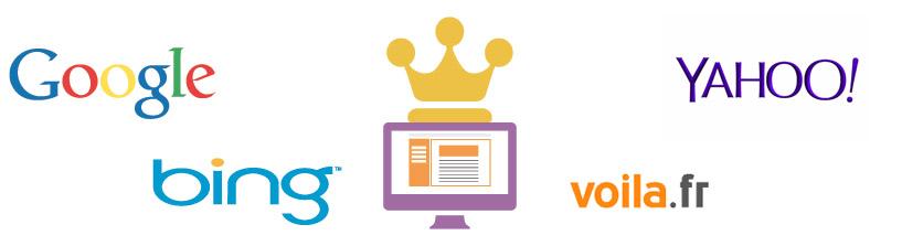 Votre site internet en première position sur Google, bing, yahoo, voila etc..