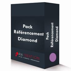 Pack référencement site internet Diamond